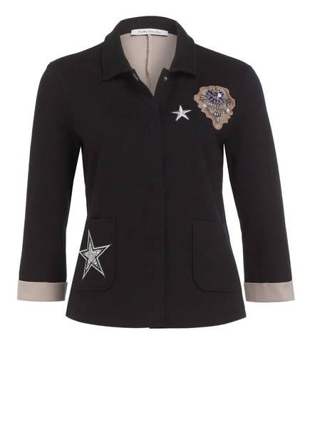Betty Barclay Jersey-Blazer mit 3/4-Arm, Farbe: SCHWARZ (Bild 1)
