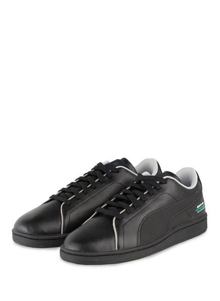 PUMA Sneaker MERCEDES AMG PETRONAS COURT, Farbe: SCHWARZ (Bild 1)