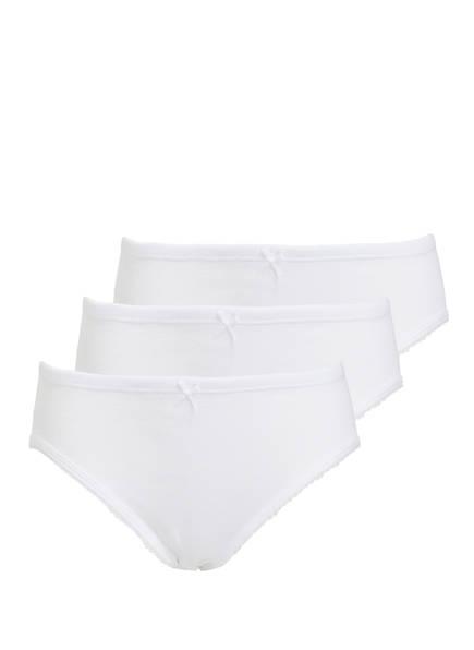 Sanetta 3er-Pack Panties, Farbe: WEISS (Bild 1)