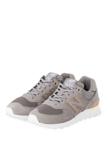 new balance Sneaker WL574, Farbe: GRAU/ BRONZE (Bild 1)