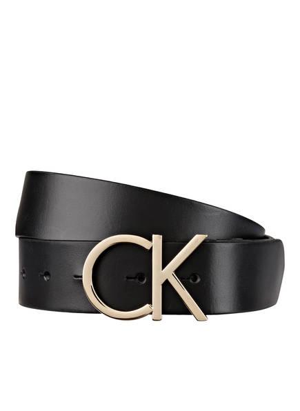 Calvin Klein Ledergürtel, Farbe: SCHWARZ (Bild 1)