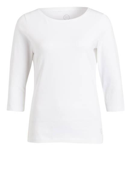 BOVIVA Shirt mit 3/4-Arm, Farbe: 100 WHITE (Bild 1)