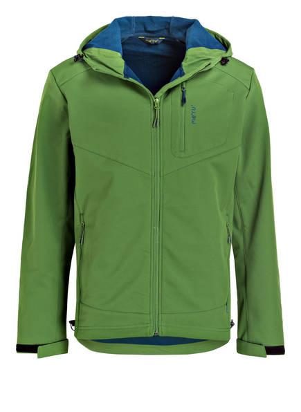 me°ru' Softshell-Jacke  BREST, Farbe: GRÜN (Bild 1)