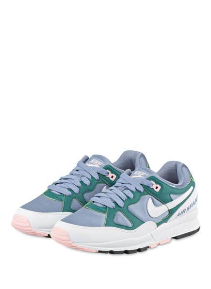 Nike Plateau-Sneaker AIR SPAN II, Farbe: BLAUGRAU/ GRÜN/ WEISS (Bild 1)