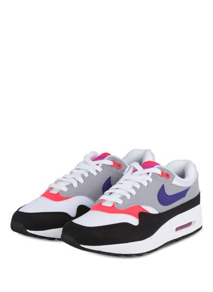 Nike Sneaker AIR MAX 1, Farbe: WEISS/ GRAU/ PINK (Bild 1)