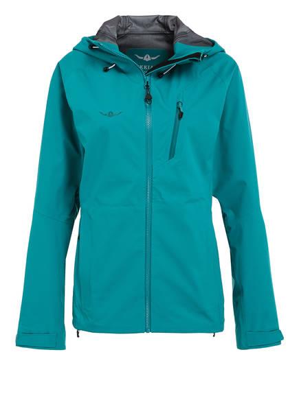KAIKKIALLA Outdoor-Jacke VIOLA 3L, Farbe: PETROL (Bild 1)