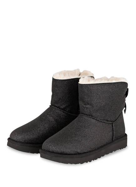 UGG Boots BAILEY BOW SPARKLE, Farbe: SCHWARZ (Bild 1)