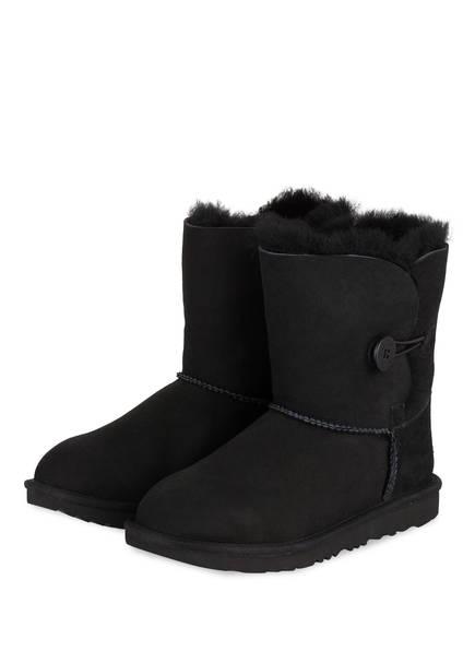 UGG Boots BAILEY BUTTON, Farbe: SCHWARZ (Bild 1)