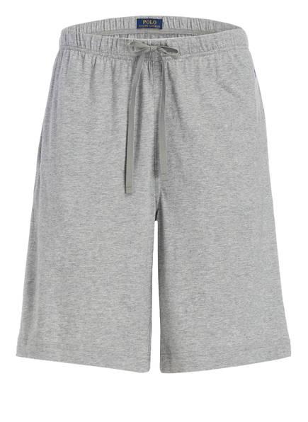 POLO RALPH LAUREN Lounge-Shorts, Farbe: GRAU MELIERT (Bild 1)