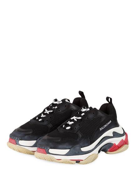 BALENCIAGA Sneaker TRIPLE S, Farbe: SCHWARZ/ WEISS (Bild 1)