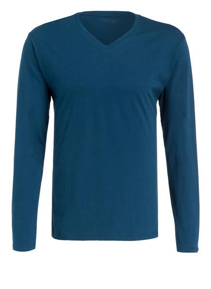 SCHIESSER Lounge-Shirt, Farbe: PETROL (Bild 1)