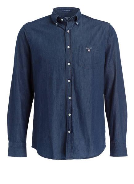 GANT Hemd Regular Fit, Farbe: DUNKELBLAU (Bild 1)