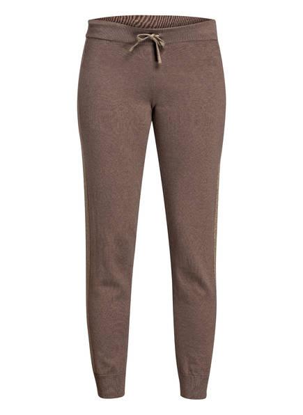 DEHA Sweatpants in Strickqualität, Farbe: TAUPE/ GOLD (Bild 1)
