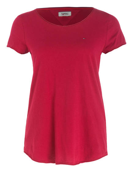 TOMMY JEANS T-Shirt, Farbe: ROT (Bild 1)