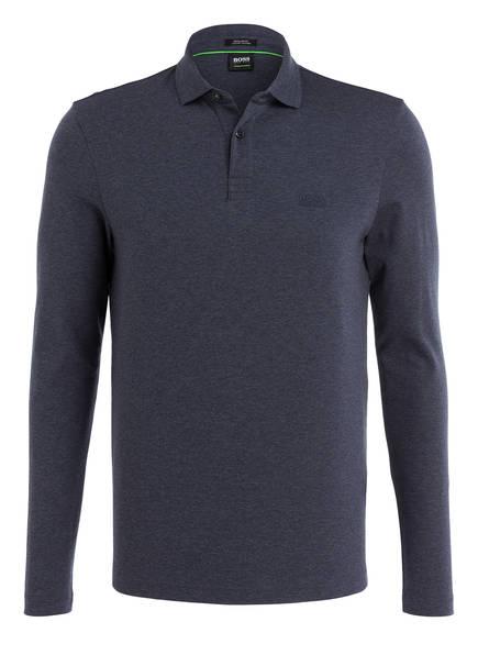 BOSS Jersey-Poloshirt PIROL Regular Fit, Farbe: DUNKELBLAU MELIERT (Bild 1)