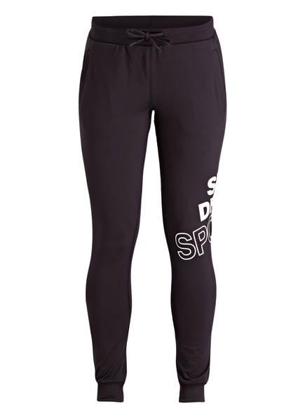Superdry Hose im Jogging-Stil, Farbe: SCHWARZ (Bild 1)