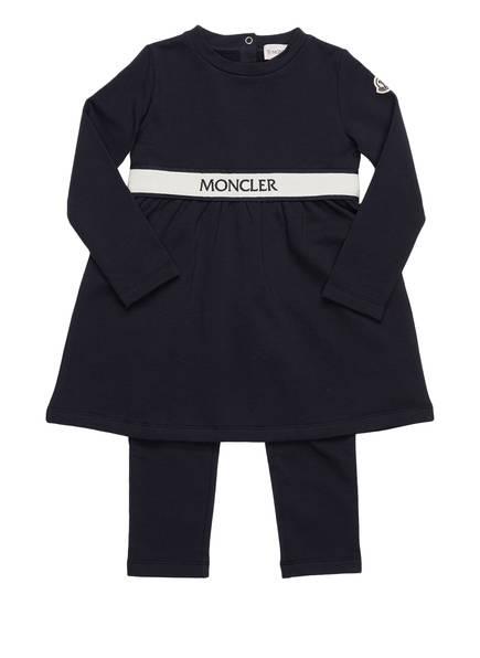MONCLER Set: Kleid und Leggings, Farbe: DUNKELBLAU (Bild 1)