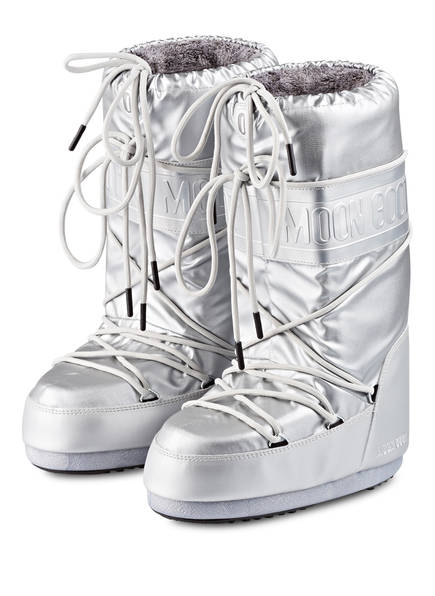 MOON BOOT Moon Boots CLASSIC PLUS, Farbe: SILBER (Bild 1)