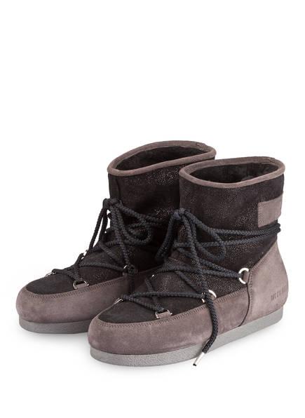 MOON BOOT Moon Boots FAR SIDE GLITTER, Farbe: SCHWARZ/ GRAU (Bild 1)