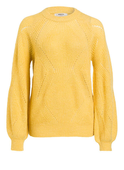 MOSS COPENHAGEN Pullover LUNEA, Farbe: GELB (Bild 1)