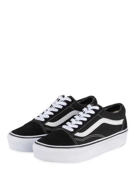 vans damen old skool plateau