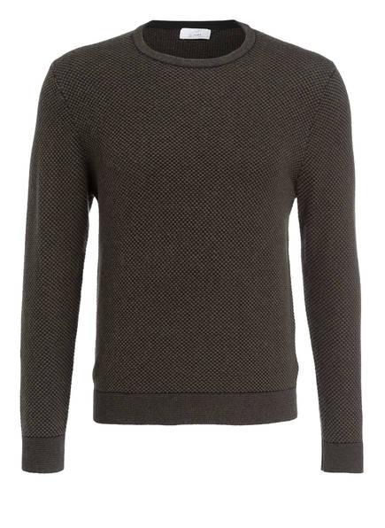 CHAS Cashmere-Pullover, Farbe: GRÜN/ SCHWARZ (Bild 1)