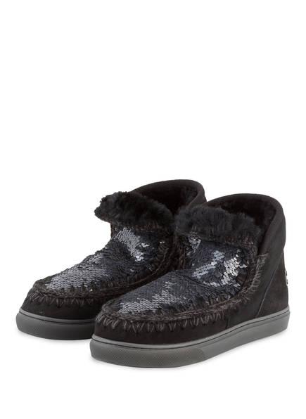 mou Fell-Boots MINI ESKIMO, Farbe: SCHWARZ (Bild 1)