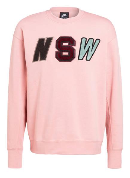 Nike Sweatshirt CREW FLEECE, Farbe: ROSA (Bild 1)