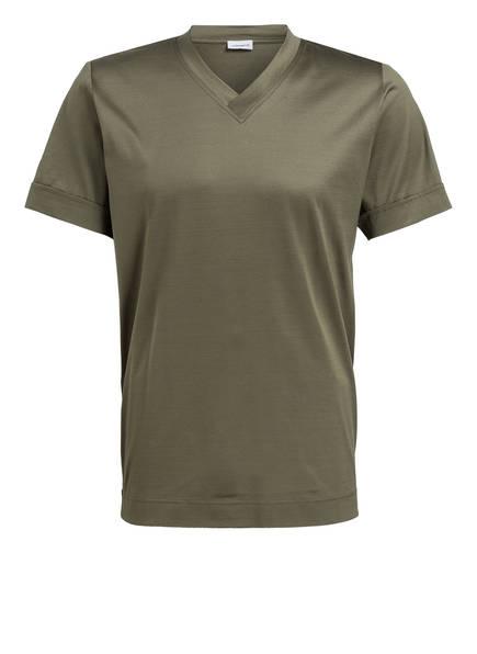 zimmerli T-Shirt POETIC BOTANICALS, Farbe: OLIV (Bild 1)