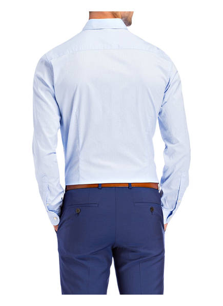OLYMP Olymp Hemd Level Five Smart Business Body Fit blau