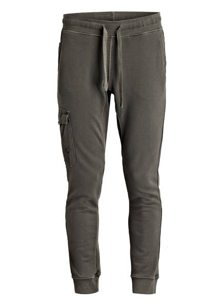 TRUE RELIGION Sweatpants, Farbe: OLIV (Bild 1)