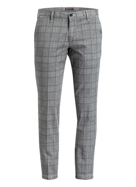 PBT Chino Slim Fit, Farbe: GRAU/ DUNKELGRAU KARIERT (Bild 1)