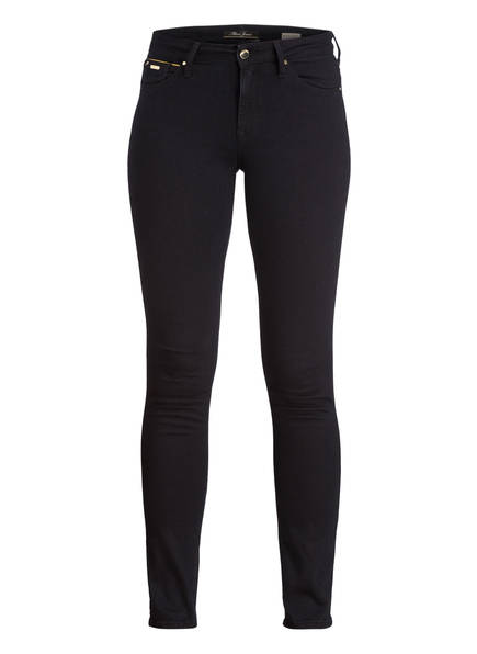 mavi Skinny Jeans NICOLE, Farbe: 26732 RINSE CHIC MOVE BLACK (Bild 1)