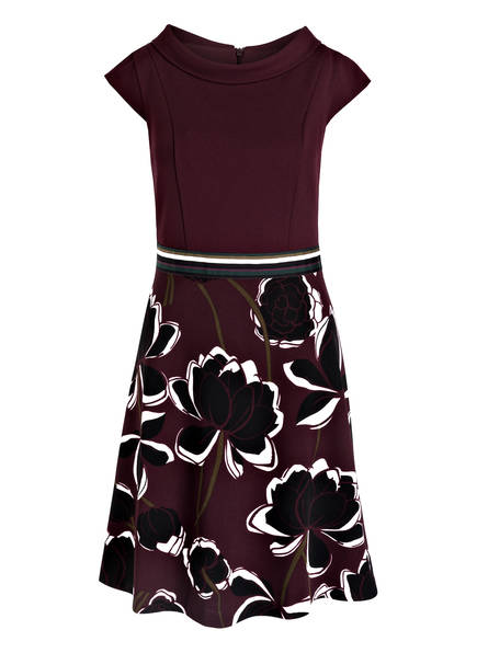 s.Oliver BLACK LABEL Kleid, Farbe DUNKELROT  SCHWARZ  WEISS (Bild 1 d06e19aa85