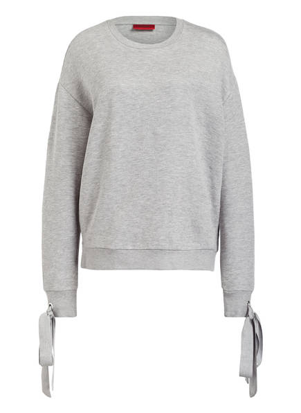 Grau Meliert Newia Newia Hugo Hugo Sweatshirt Sweatshirt Hugo Meliert Grau Sweatshirt Newia UwfxaB