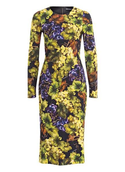DOLCE&GABBANA Kleid, Farbe: SCHWARZ/ GELB/ GRÜN (Bild 1)