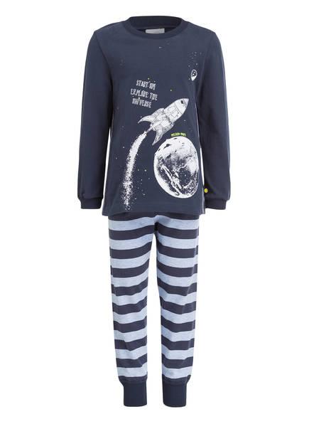 Sanetta Schlafanzug, Farbe: BLAU/ HELLBLAU (Bild 1)