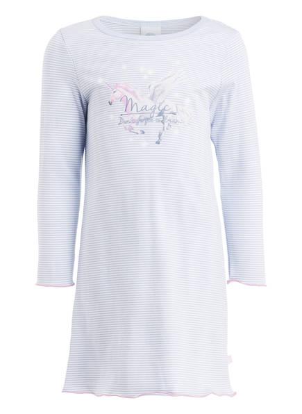 Sanetta Nachthemd, Farbe: HELLBLAU/ WEISS GESTREIFT (Bild 1)
