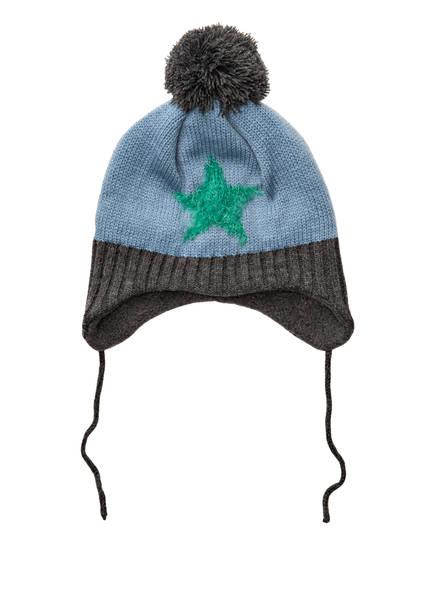 Barts Mütze INKA, Farbe: HELLBLAU/ DUNKELGRAU (Bild 1)