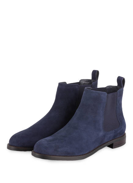 LAUREN RALPH LAUREN Chelsea-Boots HAANA, Farbe: NAVY (Bild 1)