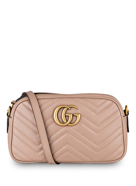 GUCCI Umhängetasche GG MARMONT SMALL, Farbe: PORCELAIN ROSE (Bild 1)