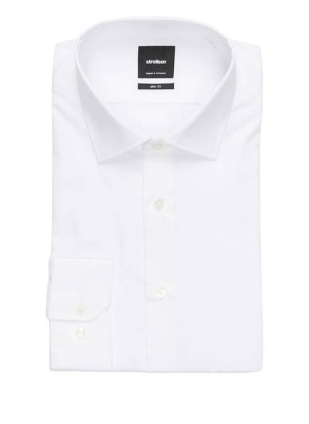 strellson Hemd SANTOS Slim Fit, Farbe: WEISS (Bild 1)