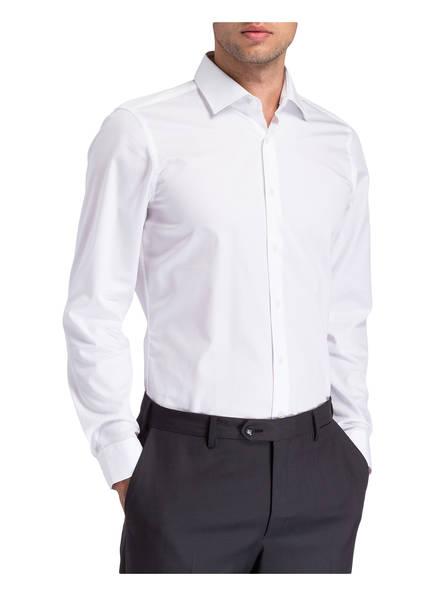 Slim Strellson Santos Weiss Fit Hemd OPRwnZ1q