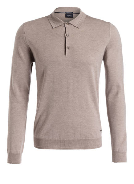 JOOP! Pullover DELAN mit Polokragen, Farbe: BEIGE (Bild 1)