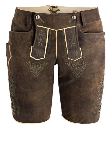 MEINDL Trachten-Lederhose , Farbe: BRAUN (Bild 1)