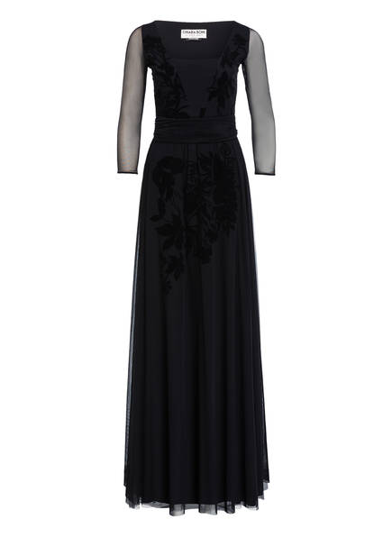 CHIARA BONI La Petite Robe Abendkleid mit 3/4-Arm, Farbe: SCHWARZ (Bild 1)