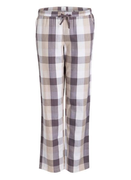 SCHIESSER Sleep-Pants MIX & RELAX , Farbe: BEIGE/ WEISS (Bild 1)