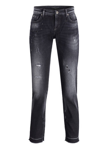 CAMBIO Destroyed-Jeans LAURIE, Farbe: SCHWARZ (Bild 1)