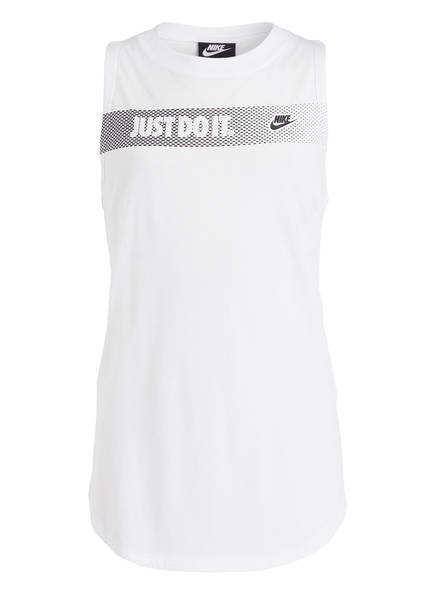 Nike Tanktop, Farbe: WEISS (Bild 1)