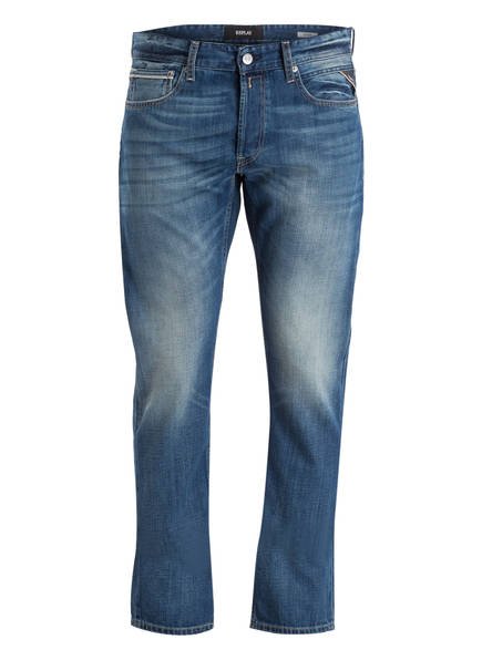 REPLAY Jeans GROVER Straight Fit, Farbe: 009 BLUE (Bild 1)